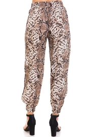 dress forum Snake Print Joggers - Back cropped