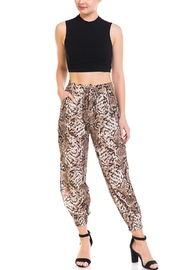 dress forum Snake Print Joggers - Front full body