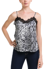 Mad For Love Snake-Print  Lace Cami - Product Mini Image