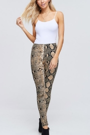 White Birch Snake Print Legging - Product Mini Image