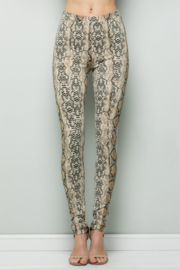 See and Be Seen Snake Print Legging - Product Mini Image