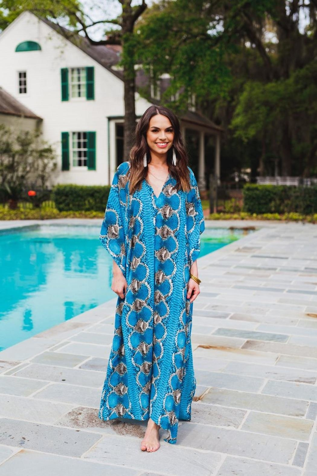 Buddy Love Miller Snake Print Maxi Dress - Main Image