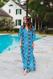 Buddy Love Miller Snake Print Maxi Dress - Front full body