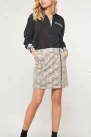 Promesa Snake Print Mini Skirt - Product Mini Image