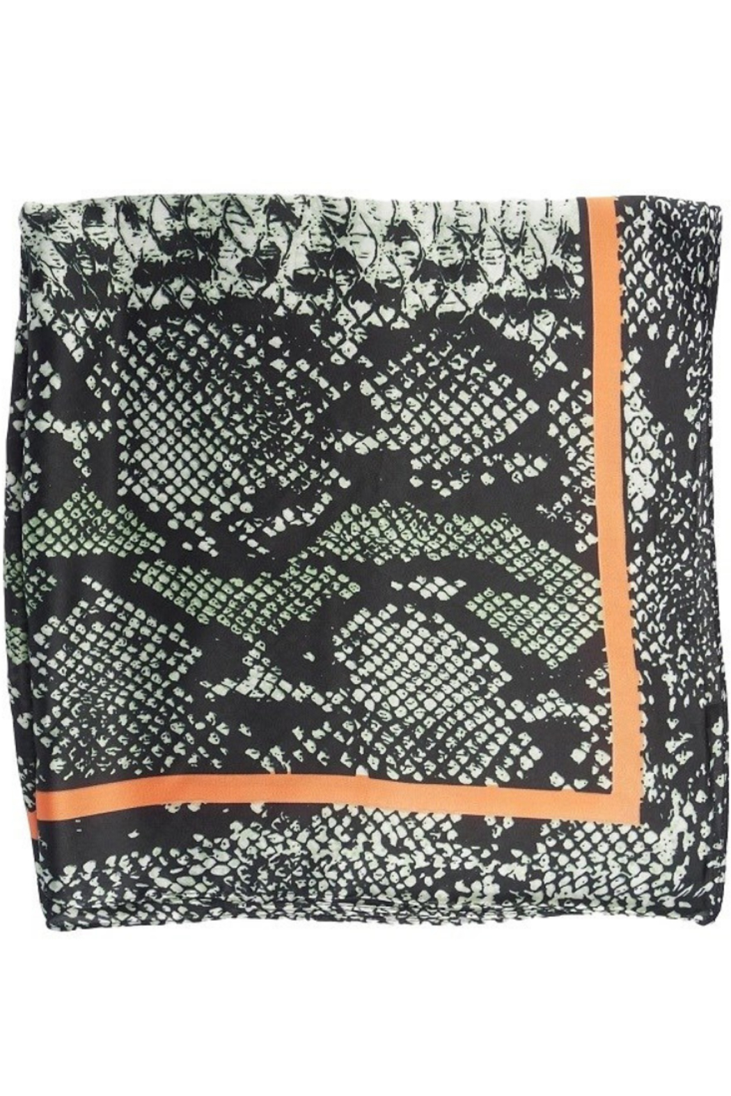 Olive & Pique Snake Print Neckerchief - Front Full Image