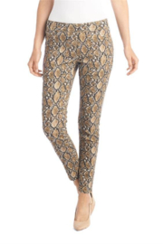 CoCo and Carmen  Snake Print Pull on Pant - Product Mini Image
