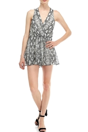 Final Touch Snake Print Romper - Side cropped