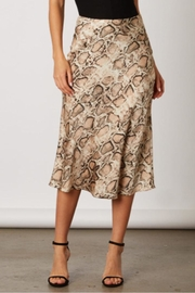 Cotton Candy LA Snake Print Skirt - Product Mini Image