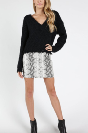 Honey Punch Snake Print Skirt - Product Mini Image