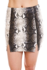 Salt Snake Print Skirt - Product Mini Image