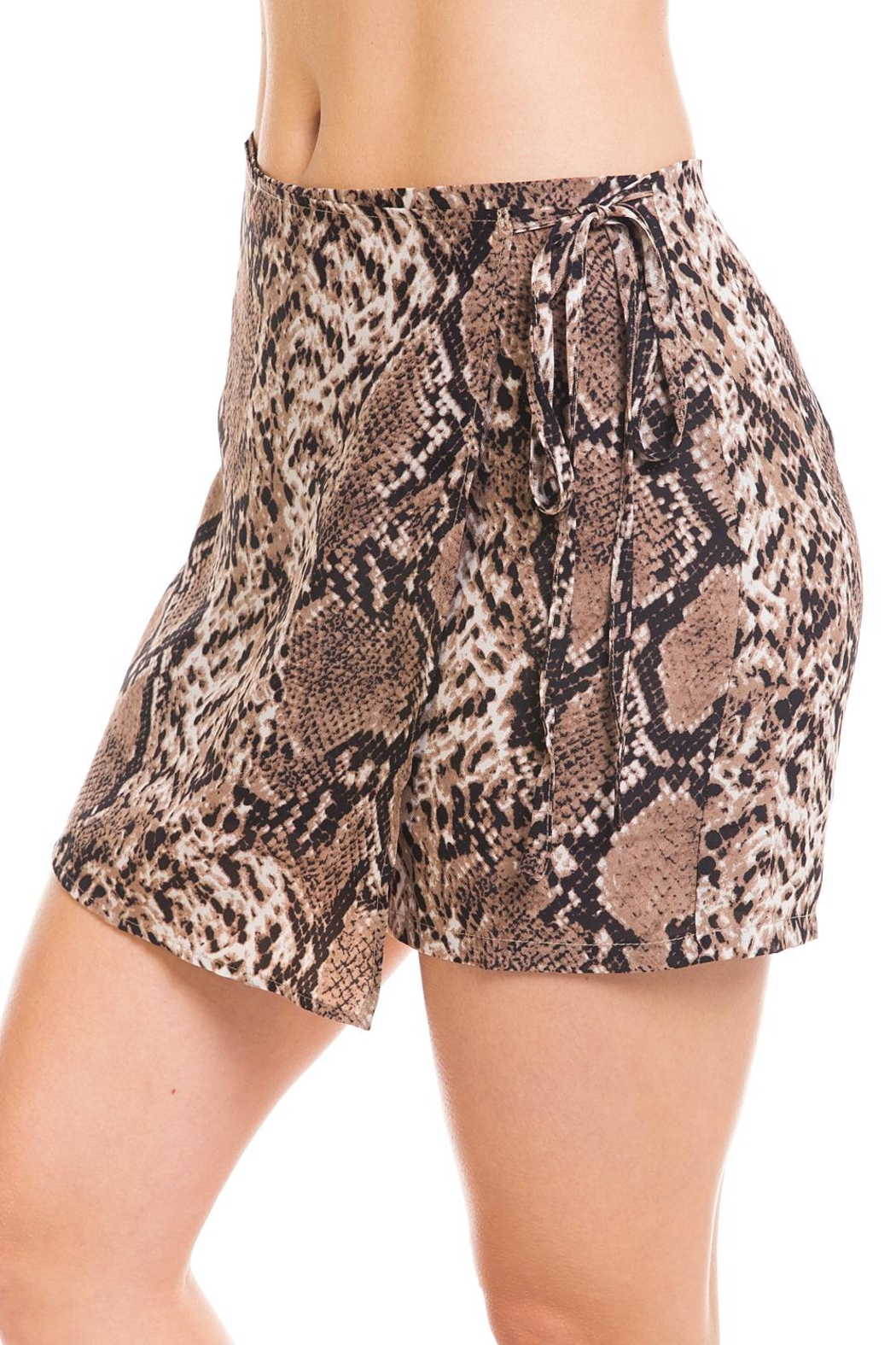 Renamed Clothing Snake Print Skort - Side Cropped Image