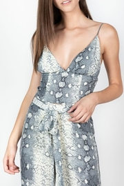 essue Snake Print Tank - Front cropped