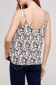 Caramela Snake Print Tank - Alternate List Image