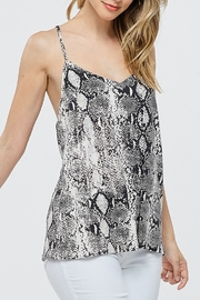 Papermoon Snake Print Tank - Front cropped