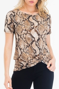 Yipsy Snake Print Tee - Product List Image