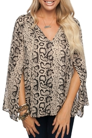 Buddy Love Snake Print Top - Product Mini Image