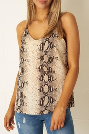 frontrow Snake Print Top - Product Mini Image