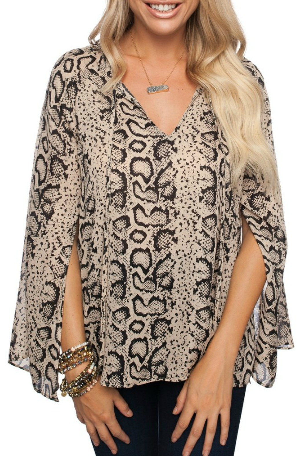 b8319146063d Buddy Love Snake Print Top from Louisiana by Bella Bella — Shoptiques