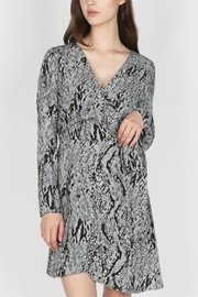 Skies Are Blue Snake Skin Dress - Product Mini Image