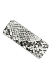 Lyn -Maree's Snake Skin Hair Clip - Product Mini Image