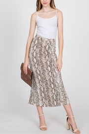 CY Fashion Snake Skin Skirt - Product Mini Image