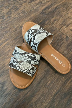 Kindred Mercantile Snakeskin Sandals - Product List Image