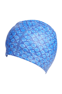 Bling2o Snake Skin Swim Cap - Alternate List Image