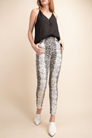 Mittoshop Snake Skinny Jeans - Front cropped
