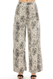 Do & Be Snake Wide-Leg Pants - Product Mini Image