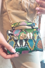 Handbag Express Snakeprint Mini Bag - Product Mini Image