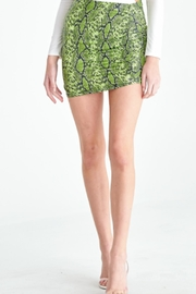 TIMELESS Snakeprint Skirt - Product Mini Image