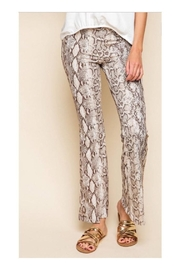 MTS Snakeskin Bell Bottoms - Product Mini Image