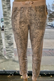 Vintage Havana  Snakeskin French Terry Joggers - Product Mini Image