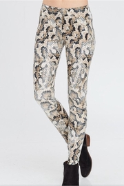 White Birch Snakeskin Leggings - Product Mini Image