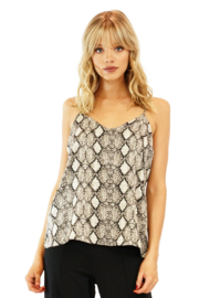 Veronica M Snakeskin Lined Cami - Product Mini Image