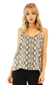 Veronica M Snakeskin Lined Cami - Alternate List Image