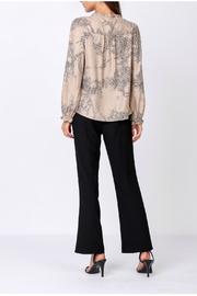 Current Air snakeskin print blouse - Front full body