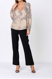 Current Air snakeskin print blouse - Product Mini Image