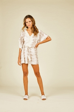 Surf Gypsy Snakeskin Print Coverup - Product List Image
