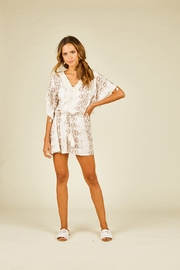 Surf Gypsy Snakeskin Print Coverup - Product Mini Image