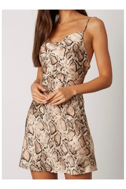 Polly & Esther Snakeskin Print Dress - Product Mini Image