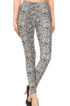 Shoptiques Product: Snakeskin Print Leggings
