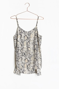 726ca9eaca1 Polly   Esther Snakeskin Print Dress from Brooklyn — Shoptiques