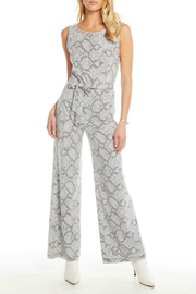 Chaser Snakeskin Print Wide Leg Jumpsuit - Product Mini Image