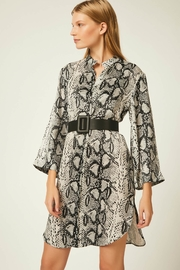 Urban Touch Snakeskin Shirt Dress - Product Mini Image