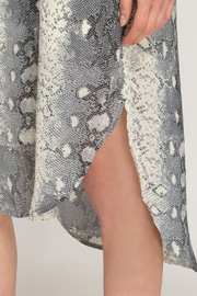 She + Sky Snakeskin Slip Dress - Side cropped