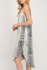 She + Sky Snakeskin Slip Dress - Back cropped