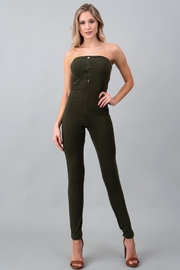 Heart and Hips Snap Button Catsuit - Product Mini Image