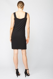 Red Haute Snap Front Dress - Front full body