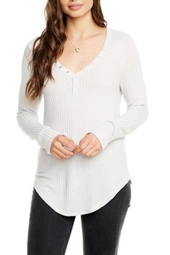 Chaser Snap-Front Thermal Henley - Alternate List Image